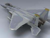 f-15c eagle 3d model