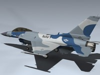3d f-16n falcon navy