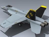 F/A-18E Super Hornet (VFA-115 CAG)