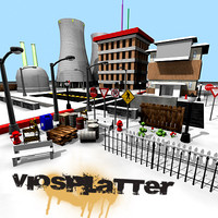 VioSplatter Street Assortment V1 Textured