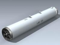 3d lau-131 rocket pod