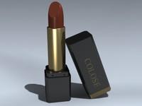 lipstick lip 3d max