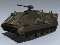 3ds max m113a1 apc winter merdc