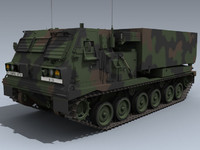 m270 mlrs nato 3d model