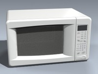 microwave oven 3d 3ds
