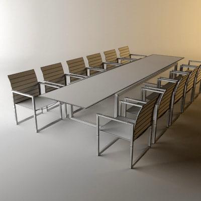 3ds Royal Botania Ninix Chair