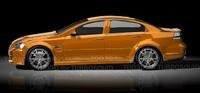 3d model pontiac g8 gt 2009