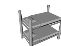 military bunk bed lwo