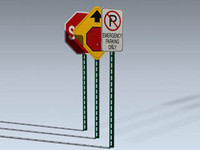 signs series 1 3d obj