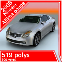 3ds 2008 nissan altima coupe