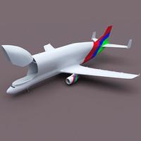 super transporter 3d model