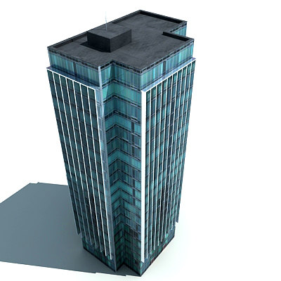 3d Model Skyscrapers Skyscraper 3d