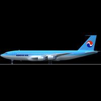 Korean Air Boeing 707