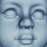 statue girl 3d model