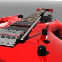 3d rich beast guitar model