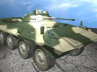 infantry russia 3d model