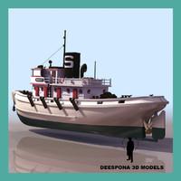diesel tug ship max