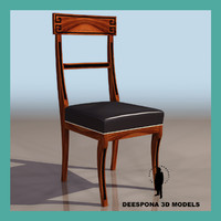 3d chair thomas hope ultradetailed