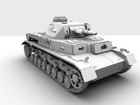 3d panzer iv 4 model