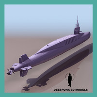 FRENCH NUCLEAR SUB LE REDOUTABLE S 611