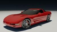 2003 chevrolet corvette auto 3d max