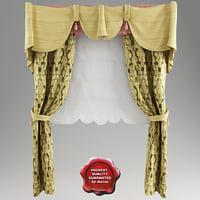 c4d roman curtain v1