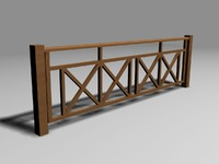 3ds west indian style railing