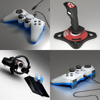 3d joypad joystick wheel