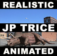 3dsmax jurassic park triceratops