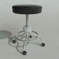 doctors chair 3d model