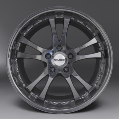 falken rim 3d model - Falken Rim Alloy... by juan8luna
