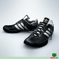 3ds max sport shoes