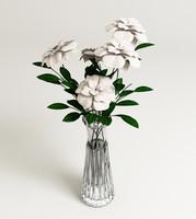 3dsmax flowerses vase