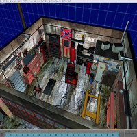 directx garage 01 door