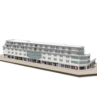 3d model of hotel 1