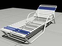 3ds max pool lounge