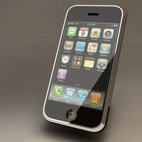 apple iphone c4d