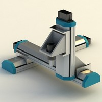 3d model cartesian robot