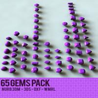 3d 65 gems model