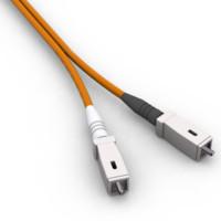 3d model fiber sc connectors