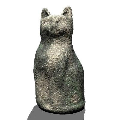 CAT GARDEN ORNAMENT
