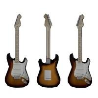 maya stratocaster guitar