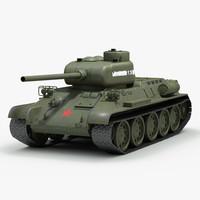 3ds max soviet tank