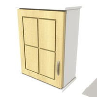3d kitchen wall cupboard
