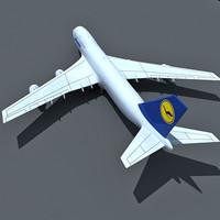 Boeing 747 Lufthansa V1