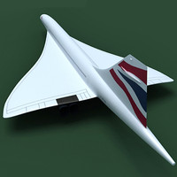 concorde british airways 3d 3ds