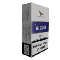 3d model winston cigar