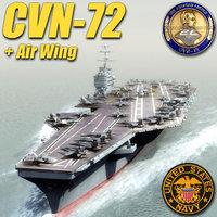 3d cvn-72 cvn 72