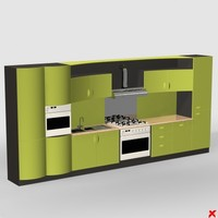 3ds max kitchen