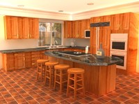 kitchen gi 3d ma